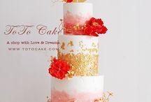 Engagements cake
