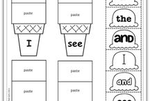Kinder Sight Word Activities / by Allison Fraser-Kershaw