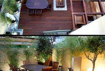 giardini, terrazze  ispirazioni