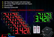 "20"" Gas Price LED Signs"