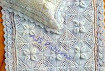 PDF Knitting Pattern for a Baby Blanket & by…