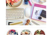 Blog color scheme