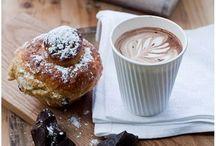 Kaffee und hot chocolate ♥