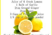 Remedies For the flu / All natural