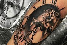 Relogios tatto