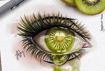 Eye drawing