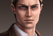 Capitan Erwin Smith - SnK | AoT