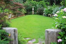 Garden borders and paths / Circles and other forms, borders, paths