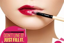 MyGlammRitual / Don't just line your lip with lip liners, fill it up with the liner and follow it up with some gloss. It'll last forever! :D #MyGlammRitual