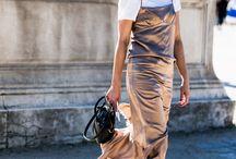 2016 TREND - JEANS UNDER DRESSES