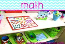 Math / Math activities, games, and center ideas for pre-k and kindergarten.