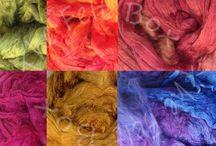 Wet felt fibres