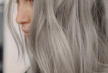 Grey project / Une sélection chic pour cheveux gris.