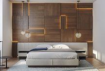 pareti in legno design