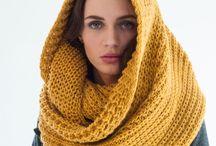 Knitting scarfs & shawls