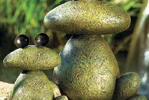 animais com pedra