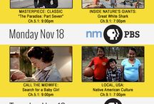 This Week On New Mexico PBS / Weekly Schedules / by New Mexico PBS