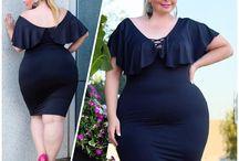 Schöne Vollschlanke Curven / Schöne Kleider in schönen Körpern.