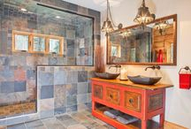Bathrooms by Wisconsin Log Homes - National Design & Build Services - www.wisconsinloghomes.com / Bathrooms by Wisconsin Log Homes - National Design & Build Services - Log, Timber Frame & Hybrid Style Homes -  www.wisconsinloghomes.com
