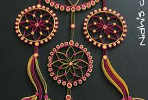 Dream catcher made of paper
