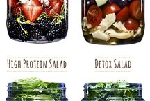 Salad in a jar / by Alexandra Constandache