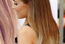 Ombre hairstyles <3 / Love Ombre *.*