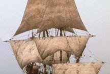 Wooden ships replicas