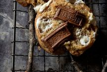 S'more cookies on stick
