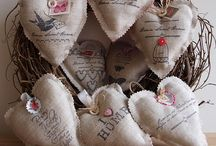 Burlap Creations / by Lilac Farm's Barn Sale Finds and Goods