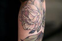 flowery:tattoo