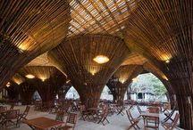 Bamboo interiors