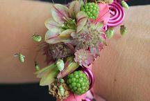 brazaletes flor