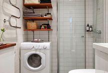 bathroom tiny spaces