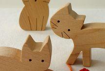 Toy Wooden Animals