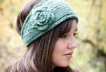 Knitting headbands/ear warmers