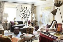 Glamliy Rooms / Hardworking-yet-fabulous fabrics and furniture for your family room.