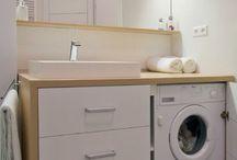 Ванная со стиральной машиной / bathroom with washingmachine / Ванная со стиральной машиной / bathroom with washingmachine