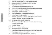 tips to write
