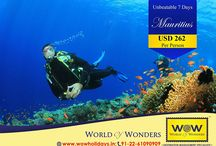 Mystical Mauritius / WOW presents 6N/7D Mauritius package @ just USD 262 Per Person. Book Now!!