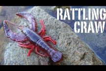 3D Reaction Craw / The ultimate swim jig trailer.  Wild arm and claw movements are paired with subtle leg movements and internal rattles to call fish from a distance.  The 3D Reaction Craw can be fished on a jig head, weighted hook or your favorite crawfish rig.