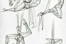 posturas dibujo