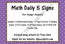 Daily 5 Math / by Melissa Boyd