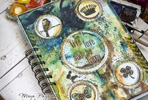 notebook scrapbooking