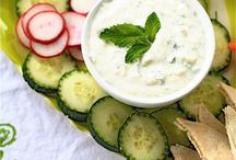 appetizers and party dips / by Melissa Massie