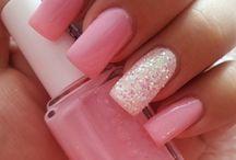 pinker Glitter