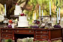 Wedding Sweets & Treats / Wedding dessert table and other treats