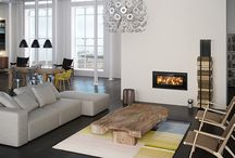 RAIS 900 / The #RAIS900 is a #streamlined #fireplace with an #elegant #newnordic #design from #RAIS. There is something discreetly striking and extravagant about it.