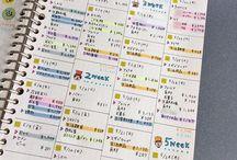 家計簿・スケジュール