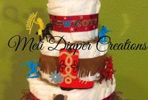 Meli Diaper Creations / Diaper Cakes & Tutu outfits