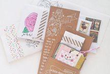 PAPER & SCRAP: snail mail